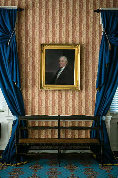 LibertyHall Parlor John Brown and bench opt